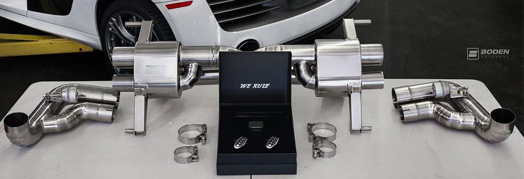 valvetronic exhaust